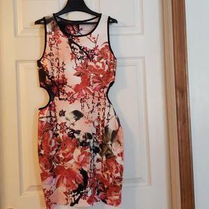 Japanese short colorful dress